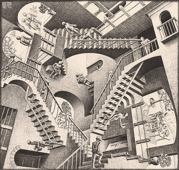 MC Escher Relativity 19531