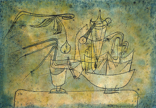 paul klee birnen destillation 1921 10